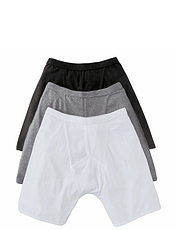 3 Pack Knitted Boxer Short With Stretch.