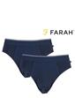 Pack Of 2 Farah Classic Brief
