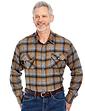 Mens Soft Handle Brushed Check Shirt
