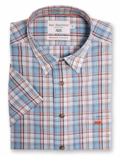 Bar Harbour Check Short Sleeved Casual Shirt