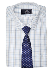 Rael Brook Long Sleeved Shirt & Tie Set