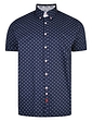 Print Shirt With Button Down Collar