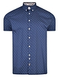 Printed Cotton Shirt With Button Down Collar