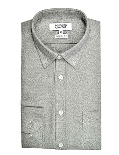 Southern Comfort Long Sleeve Brushed Jersey Shirt - Grey