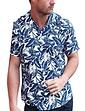 Southern Comfort Palm Print Short Sleeve Shirt