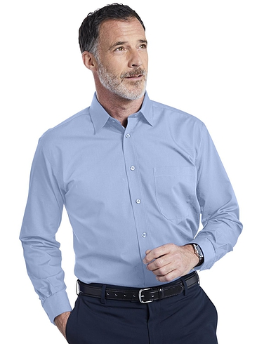 Double 2 Non-Iron Long Sleeved Shirt