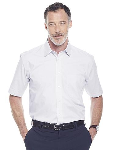 Double Two Non-Iron Short Sleeve Shirt