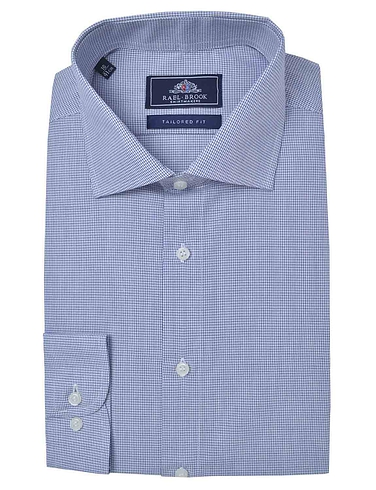 Raelbrook Long Sleeve Tailored Check Shirt