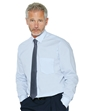 Long Sleeve Poly/Cotton Shirt with Free Tie