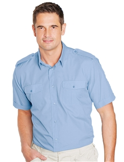 Pack of 2 Short Sleeve Pilot Shirt