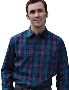 BAR HARBOUR COTTON CHECK SHIRT
