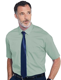 Rael Brook Short Sleeved Shirt And Tie Set - Green