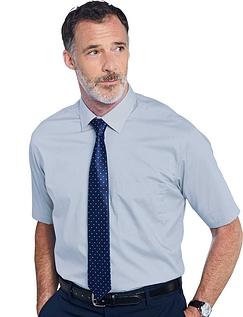 Rael Brook Short Sleeved Shirt And Tie Set - LIGHT BLUE