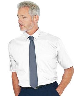 Rael Brook Short Sleeved Shirt And Tie Set - White