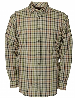 BRUSHED CHECK COTTON SHIRT BY BAR HARBOUR