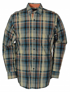 BAR HARBOUR MULTI CHECK SHIRT
