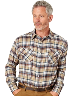 Pegasus Brushed CheckShirt