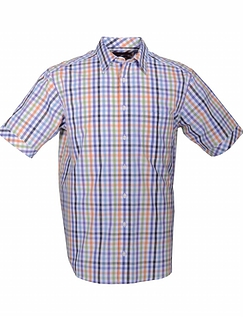 DOUBLE TWO SUMMER CHECK SHIRT