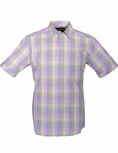 DOUBLE TWO MULTI CHECK SHIRT