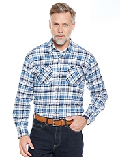 Pegasus Brushed Check Shirt