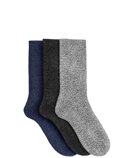 Mens 3 Pack Boot Socks