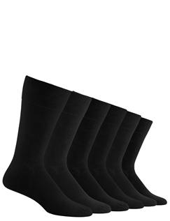 Pack of 6 Gentle Grip Socks