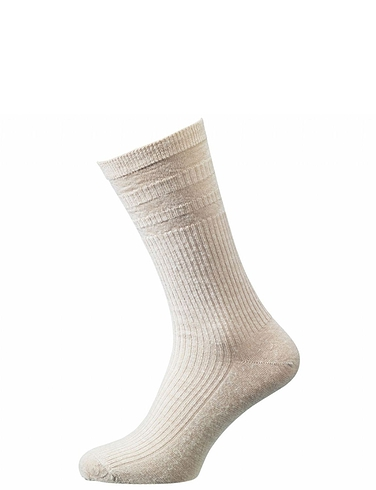 Soft Top Wide Fit Sock