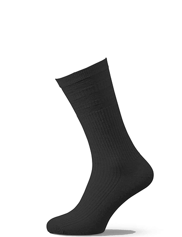 HJ Hall Soft Top Wide Fit Sock