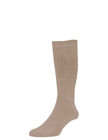 HJ Hall Pack of 2 Cotton Diabetic Socks