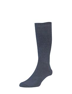 HJ Hall Pack of 2 Diabetic Wool Sock