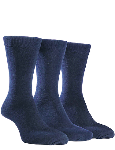 Farah 5 Pack Plain Socks