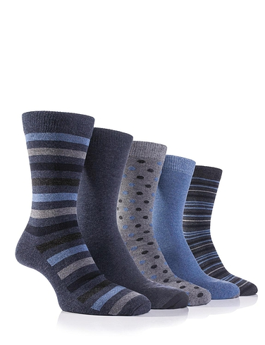 Pack Of 5 Farah Socks