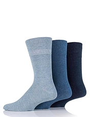 Gentle Grip Diabetic Socks (pack of 6)