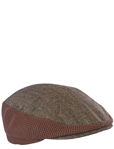 Stretch Tweed Cap