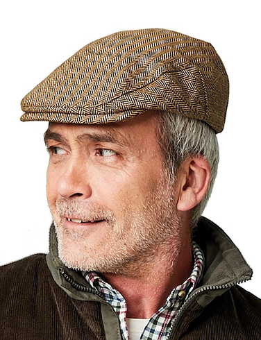 Tweed Cap With Stretch