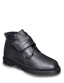 """Everest"" Mens Handcrafted Real Leather Warm Lined Touch And Close Boots"