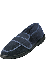 Mens Velour Comfort Shoe
