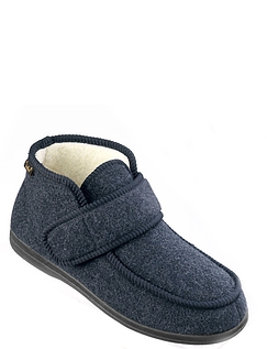 Dr. Keller Thermal Lined Easy Access Touch And Close Boot Slipper