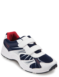 Mens Touch & Close Leisure Trainer