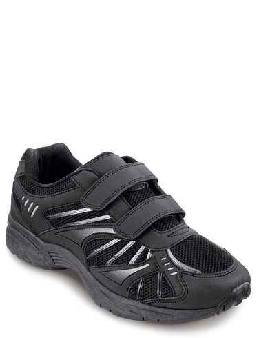 Pegasus Wide Fit Touch And Close Leisure Trainer