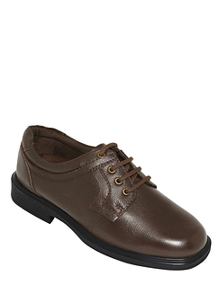 Dual Wide Fit Leather Lace Shoe