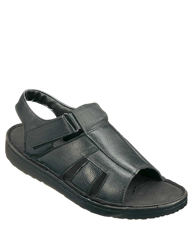 MENS REAL LEATHER LIGHTWEIGHT SANDAL