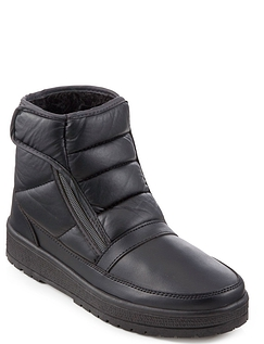 Mens Dr Keller Wide Fit Thermal Lined Easy Access All Weather Boot