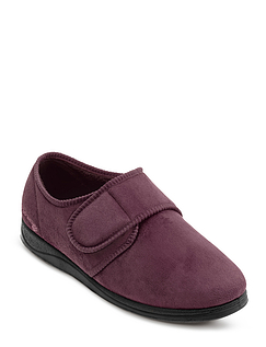 """Charles"" Mens Padders Wide 'G' Fitting Slipper"