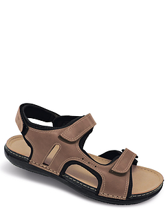 Mens Great Value FullyOpening Water ResistantSandal