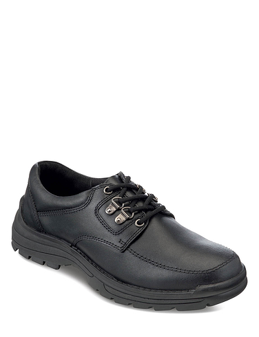 Men's Leather Lace Walking Shoe