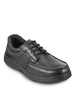 Hush Puppies 'Dual Fit' Real Leather Casuals