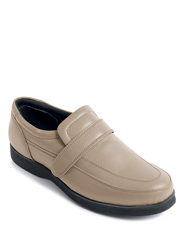 Lincoln Leather Wide Fit Shoe