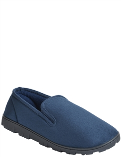 Mens Slipper With Outdoor Sole
