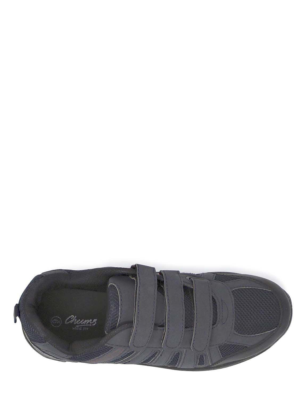 478f36341ba97 Touch Fasten Wide Fit Walking Shoe | Chums